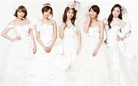 Preview wallpaper Korea KARA girls 03