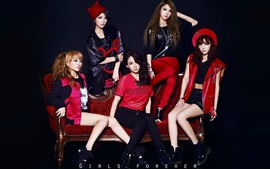 Preview wallpaper Korea KARA girls 05
