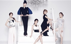 Preview wallpaper Korea KARA girls 06