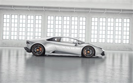 Lamborghini Huracan LP850-4 Lucifero supercar side view