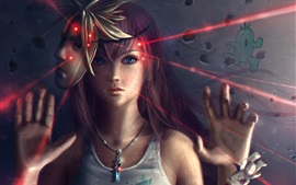 Lightning Returns Final Fantasy XIII, beautiful girl