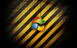 Preview wallpaper Windows operating system logo, stripes