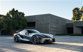 Preview wallpaper 2014 Toyota FT-1 concept supercar