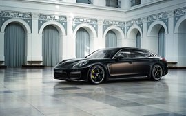 Preview wallpaper 2015 Porsche Turbo S luxury car