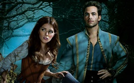 Preview wallpaper Into the Woods, Anna Kendrick, Chris Pine