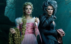 Preview wallpaper Into the Woods, Meryl Streep, Mackenzie Mauzy