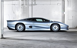 Preview wallpaper Jaguar XJ220 supercar side view