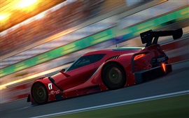 Preview wallpaper Toyota FT-1 Concept red sports car