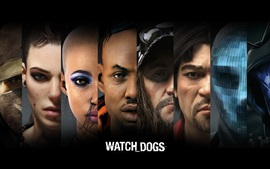 Preview wallpaper Watch Dogs, PC game HD