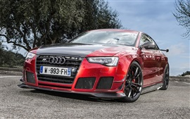 2013 ABT Audi RS5-R red car