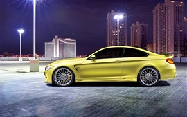 Preview wallpaper 2014 Hamann BMW M4 F82 green car