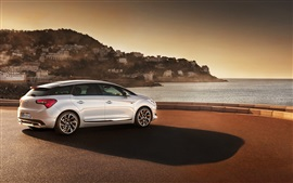 Preview wallpaper Citroen DS5 car side view