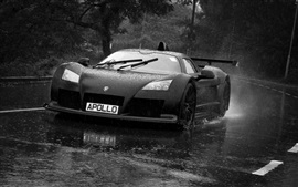 Preview wallpaper Gumpert Apollo S black supercar