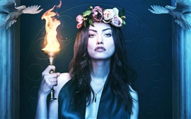 Aperçu fond d'écran Phoebe Tonkin Hayley, The Originals