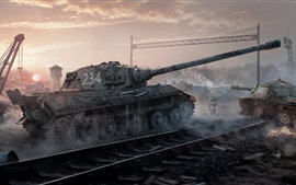 Aperçu fond d'écran World of Tanks, Wargaming Net