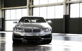 Preview wallpaper BMW 4 Series Coupe concept car front view