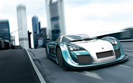 Preview wallpaper Gumpert Apollo, speed, sports car, front view