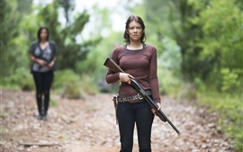 Preview wallpaper Lauren Cohan, The Walking Dead