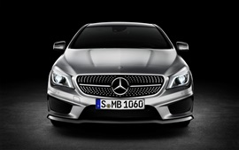 Preview wallpaper Mercedes-Benz CLA Class car front view