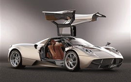 Preview wallpaper Pagani Huayra supercar, wings