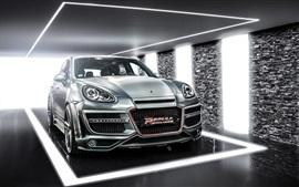Porsche Cayenne CT coche plateado Exclusiva
