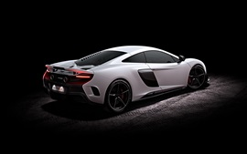 Preview wallpaper 2015 McLaren 675LT supercar side view