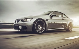 Preview wallpaper BMW M3 E92 335i car speed