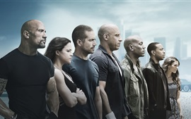 Preview wallpaper Fast and Furious 7 HD