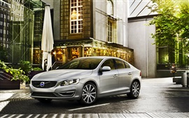 Preview wallpaper Volvo S60 grey car