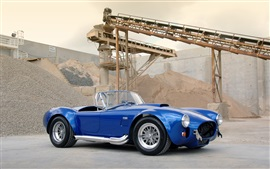 Preview wallpaper 1963 Shelby Cobra CSX 4000 427 SC blue car