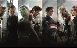 Preview wallpaper 2015 Marvel movie, Avengers 2