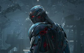 Preview wallpaper Avengers: Age of Ultron, metal iron robot