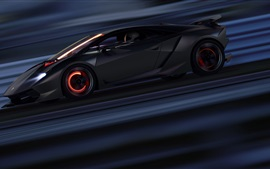 Preview wallpaper Lamborghini Sesto Elemento supercar speed