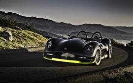Preview wallpaper Lucra LC470 black car