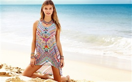 Preview wallpaper Nina Agdal 03