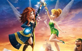 Preview wallpaper TinkerBell and Pirate Fairy, cartoon movie
