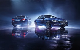 2015 Alpina BMW blue cars