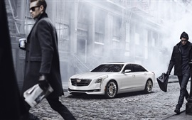 2015 Cadillac CT6 white car