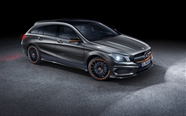 Preview wallpaper 2015 Mercedes-Benz AMG CLA45 car