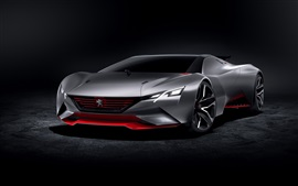 Preview wallpaper 2015 Peugeot concept supercar