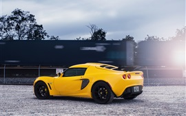 Preview wallpaper Lotus Exige yellow supercar