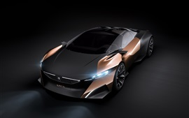Preview wallpaper Peugeot Onyx Concept supercar