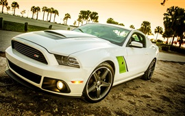 Preview wallpaper Roush Stage 3 Ford, Mustang, 2009