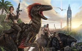 Preview wallpaper ARK: Survival Evolved