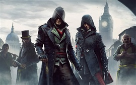 Preview wallpaper Assassin's Creed: Syndicate, city, fog