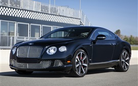 Bentley Continental GT Speed, Le Mans Edition, coche negro