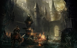 Preview wallpaper Dark Souls III