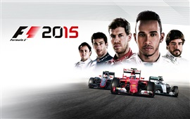 Aperçu fond d'écran F1 2015, jeu HD