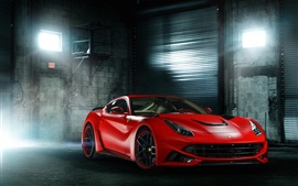 Preview wallpaper Ferrari F12 Berlinetta red supercar