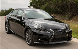 Preview wallpaper Lexus IS 300H black car